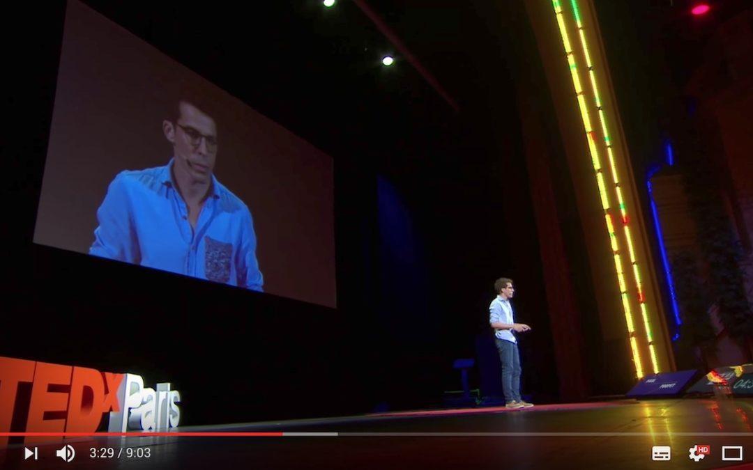 Vidéo TedX Paris : Paul Poupet nous parle d'innovations numériques