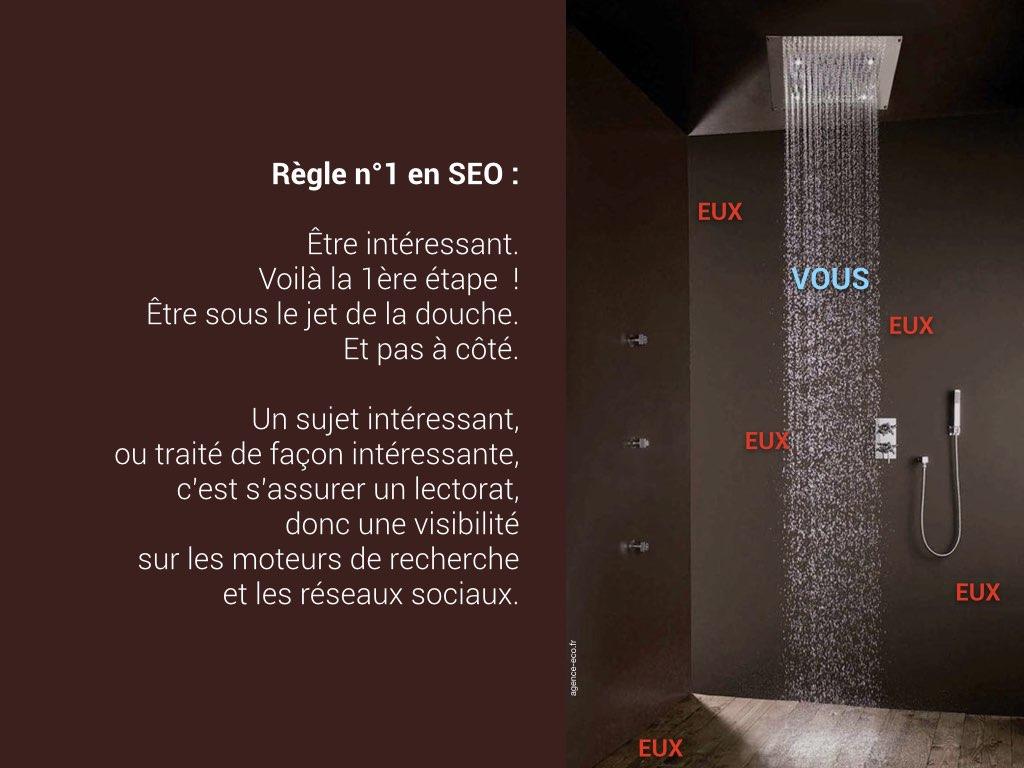 SEO / référencement naturel, règle n°1 : être intéressant !