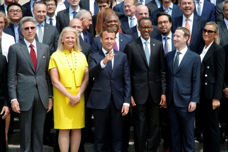 Ce qu'il faut retenir du sommet Tech for Good à l'Élysée
